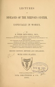 Cover of: Lectures on diseases of the nervous system