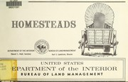 Cover of: Homesteads