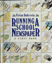 Cover of: Running a school newspaper