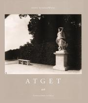 Cover of: Atget