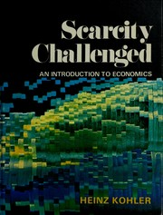 Cover of: Scarcity challenged
