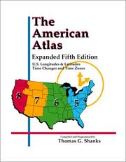 Cover of: The American Atlas | Thomas G. Shanks