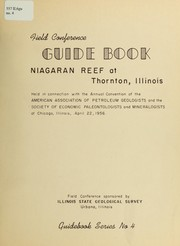 Cover of: The Niagaran reef at Thornton, Illinois