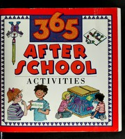 Cover of: 365 after school activities
