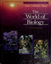Cover of: The world of biology