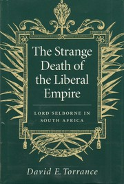 Cover of: The strange death of the liberal empire