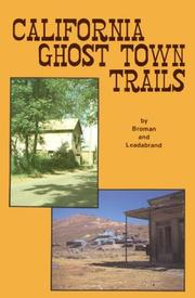 California ghost town trails