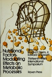 Cover of: Nutritional Factors