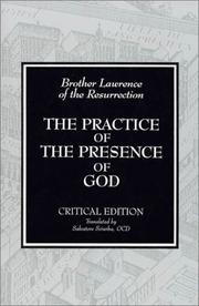 The Practice of the Presence of God by Brother Lawrence of the Resurrection