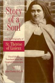 Cover of: Story of a soul
