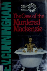 Cover of: The Case of the Murdered Mackenzie