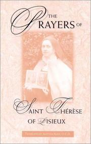 Cover of: The prayers of Saint Thérèse of Lisieux: the act of oblation