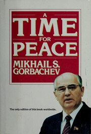 Cover of: A time for peace