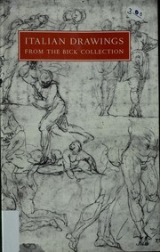 Cover of: Italian drawings | Hopkins Center. Art Galleries.