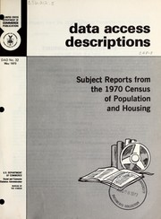 Cover of: Data access descriptions