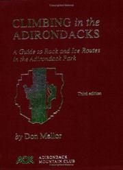 Cover of: Climbing in the Adirondacks