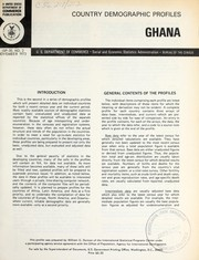Cover of: Ghana | William G. Duncan