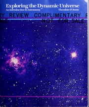 Cover of: Exploring the dynamic universe