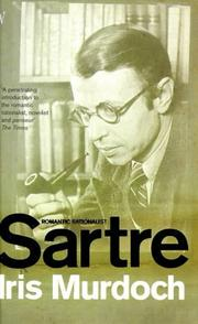 Cover of: Sartre: romantic rationalist