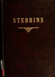 Cover of: A genealogy and history of some Stebbins lines | John Alfred Stebbins