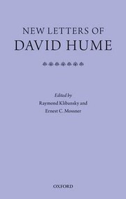 Cover of: New letters of David Hume | Raymond Klibansky