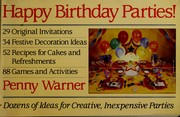 Cover of: Happy birthday parties! | Penny Warner