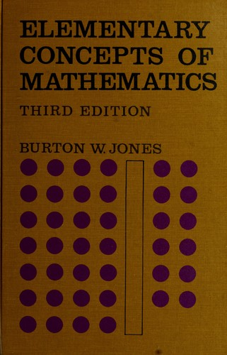 Elementary concepts of mathematics