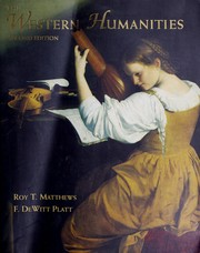 Cover of: The Western humanities | Roy T. Matthews