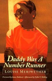 Cover of: Daddy was a number runner