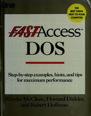 Cover of: Fast access/DOS
