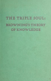 Cover of: The triple soul: Browning