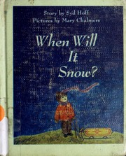 Cover of: When will it snow?