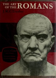 Cover of: The art of the Romans | Toynbee, J. M. C.