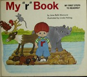 "Cover of: My ""r"" book"