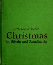 Cover of: Christmas in Britain and Scandinavia