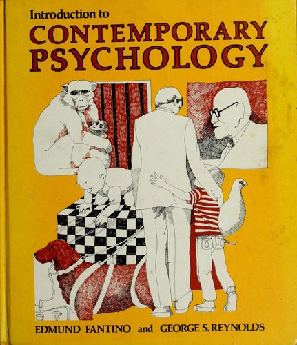 cover of introduction to contemporary psychology edmund j fantino