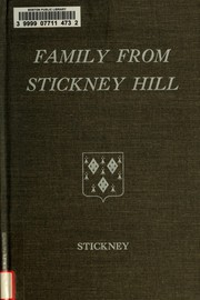 Cover of: Family from Stickney Hill