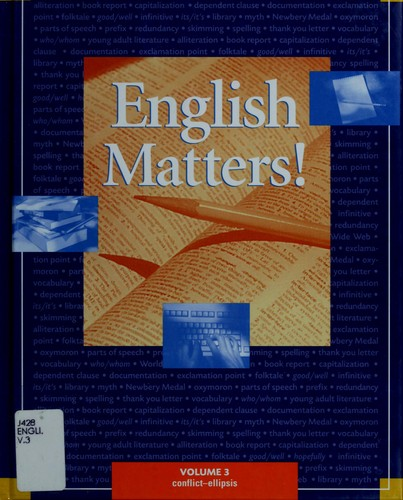 English matters! by series consultant, William Strong.