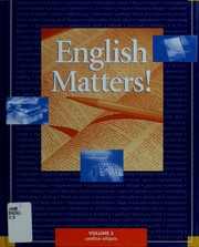 Cover of: English matters! | series consultant, William Strong.