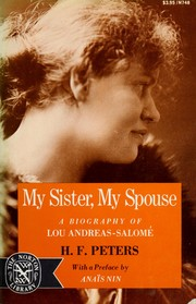 Cover of: My sister, my spouse | H. F. Peters