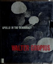 Cover of: Apollo in the democracy