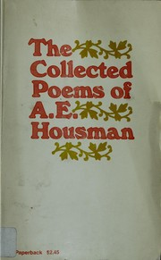 Cover of: The collected poems