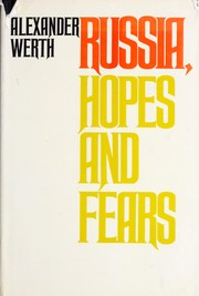 Cover of: Russia: hopes and fears