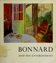 Cover of: Bonnard and his environment
