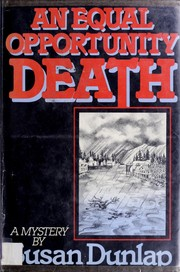 Cover of: An equal opportunity death: a mystery