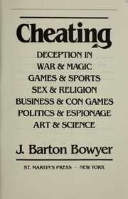 Cover of: Cheating