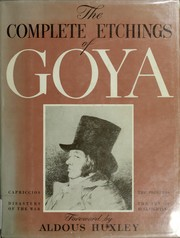 Cover of: The complete etchings of Goya