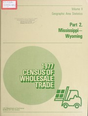 Census of Wholesale Trade