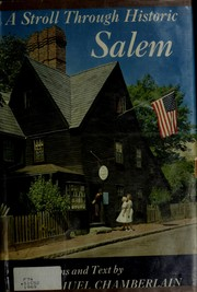 Cover of: A stroll through historic Salem