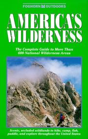 Cover of: Foghorn Outdoors: America's Wilderness